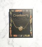 Charmin's  CB35 Coin of Power Bracelet Goldplated Steel_