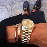 BL102 Bracelet Srew You Goldplated_