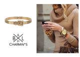 BL104 Bracelet Ceinture Goldplated_