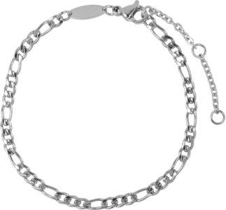 Charmin's  CB46 Figaro Bracelet Shiny Steel