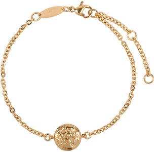 Charmin's  CB35 Coin of Power Bracelet Goldplated Steel
