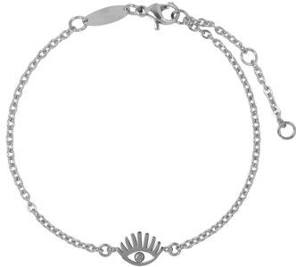 Charmin's  CB32 Lashes Bracelet Shiny Steel