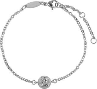 Charmin's  CB30 Roman Coin Bracelet Shiny Steel