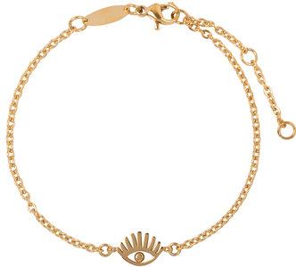 Charmin's  CB33 Lashes Bracelet Goldplated Steel