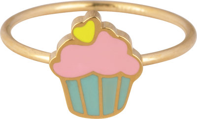 KR110-Muffin-Goud-staal-kinderring