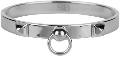Stoer en chique is deze armband. Wat en showstopper! Met welke outfit combineer jij deze armband? Gemaakt van 316L staal.